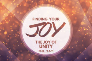 """The Joy of Unity"" (October 16, 2016 AM Sermon)"